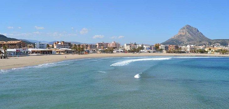 playa arenal javea