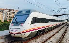 en tren a valencia