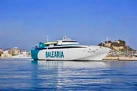 Barco a Ibiza