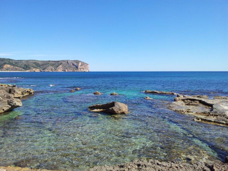 Playa segundo montañar Javea