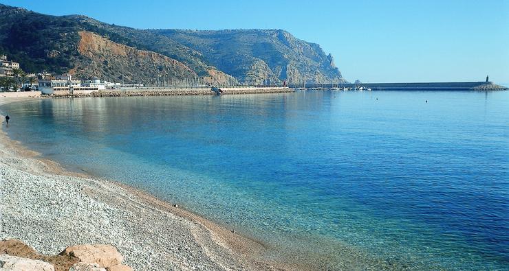 Playa de la grava Javea